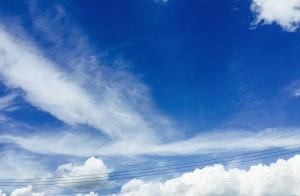 国際会館の青空