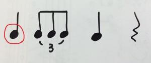 アラベスクいリズム変奏②