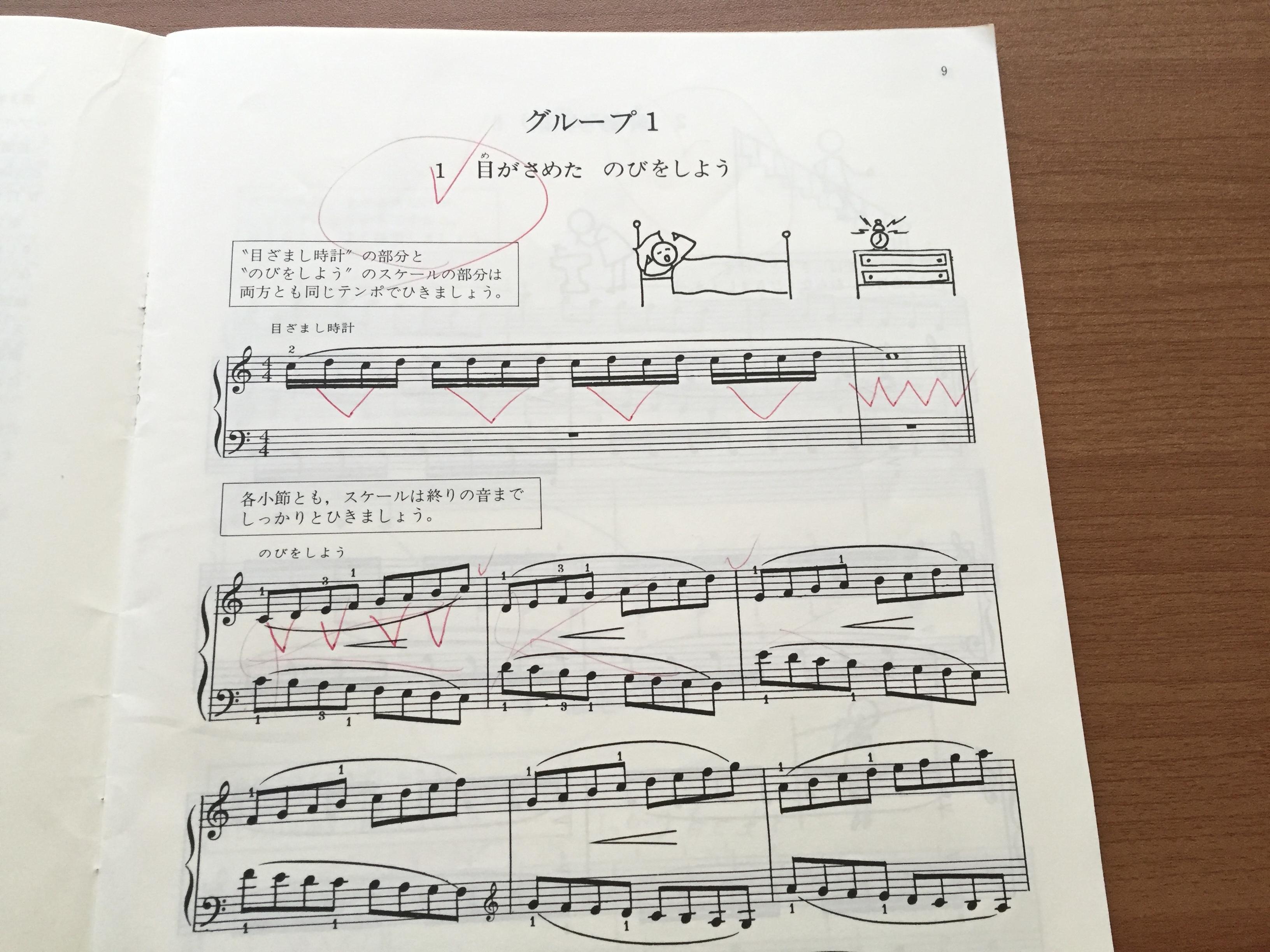 2 テクニック バーナム ピアノ